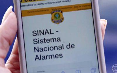 SINAL Sistema Nacional Nacional de Alarmes